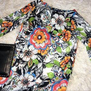Zara floral dress - small